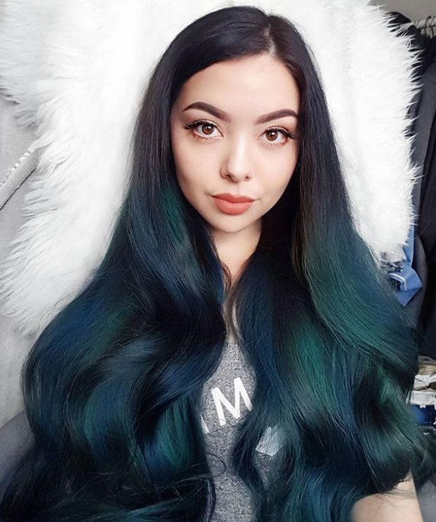 Jen Lou Meredith - Peacock Hair