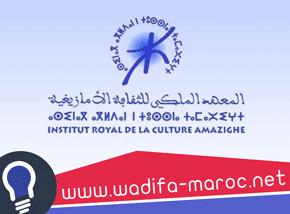 مباراة توظيف 5 تقنيين متخصصين في عدة تخصصات بالمعهد الملكي للثقافة الأمازيغية آخر أجل هو 28 فبراير 2019