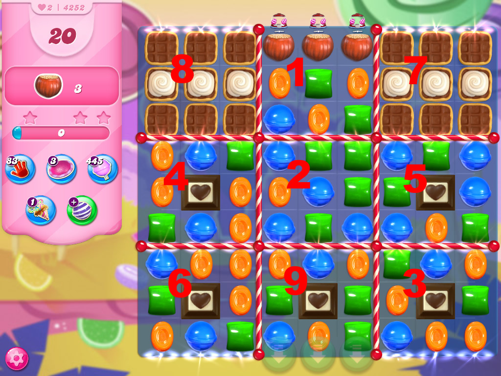 Candy Crush Saga level 4252