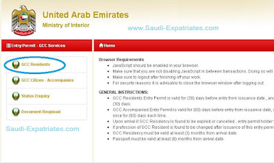 Online UAE Visa Application