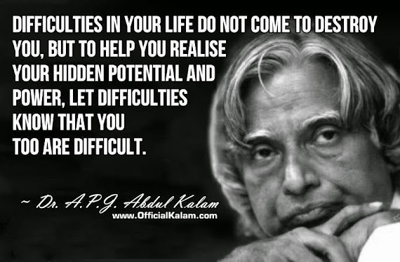 Top 100 Life Quotes Of Abdul Kalam