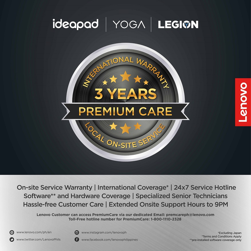 lenovo 3-year warranty