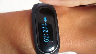 فتح علبة ومراجعة السوار الذكي cubot v1 smart bracelet المميزات والعيوب