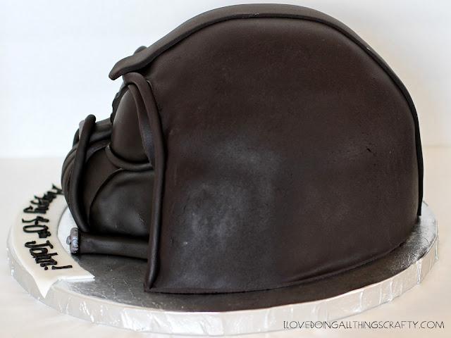 Darth Vader Cake | DIY Cakes