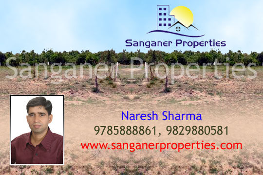Commercial Plot near Chordiya Petrol Pump in Sanganer