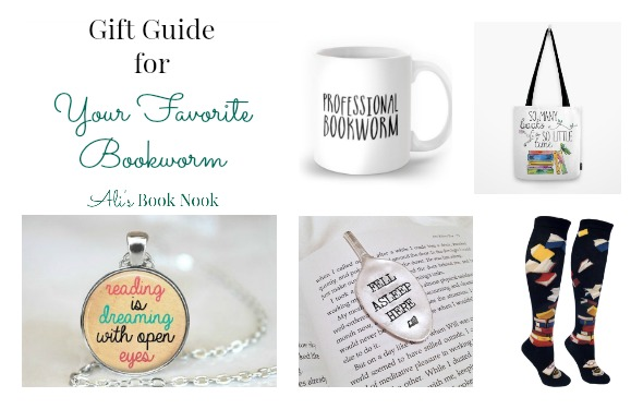 gift ideas for book lovers socks necklace bookmark