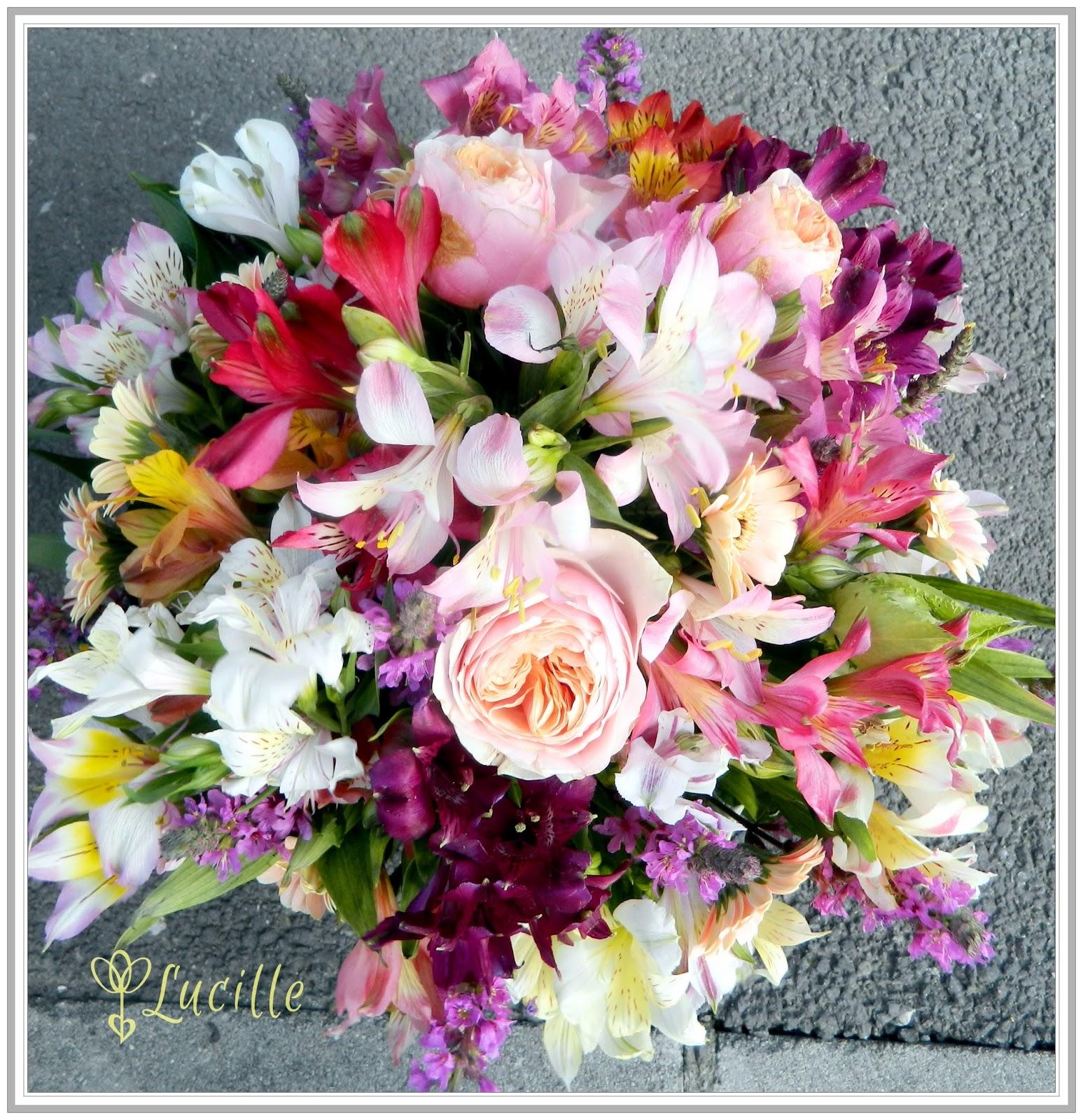 Lucille Flowers Buchet De Mireasa Colorat