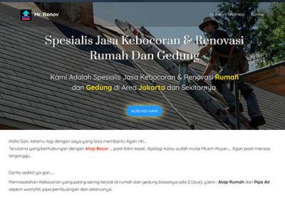 blogspot landing page