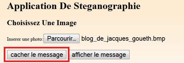 DE TÉLÉCHARGER STEGANOGRAPHIE LOGICIEL