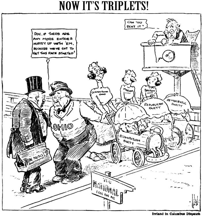 Berge's Cartoon Blog: Third Party Poopers