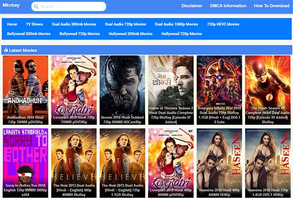 MKVbay: Sites like FMovies | Best Fmovies Alternatives to Watch Movies for Free
