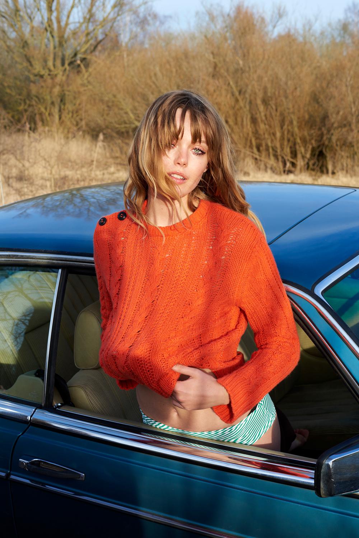Frida Gustavsson by Olivia Frolich for Eurowoman Denmark June 2016