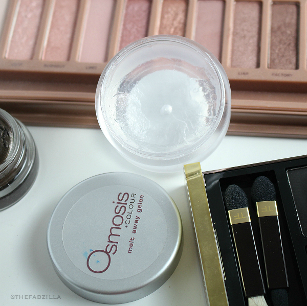 OSMOSIS MELT AWAY GELEE review, best eye makeup remover, urban decay meltdown