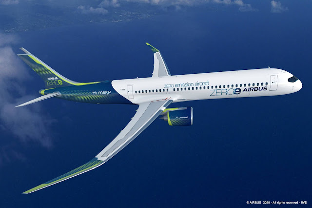 Airbus Zero emission turbofan