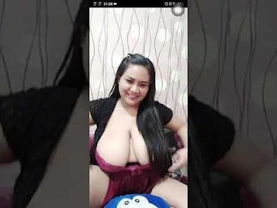 bigolive bbw huge tits asian TANTE PAMER UTING NENEN JUMBO