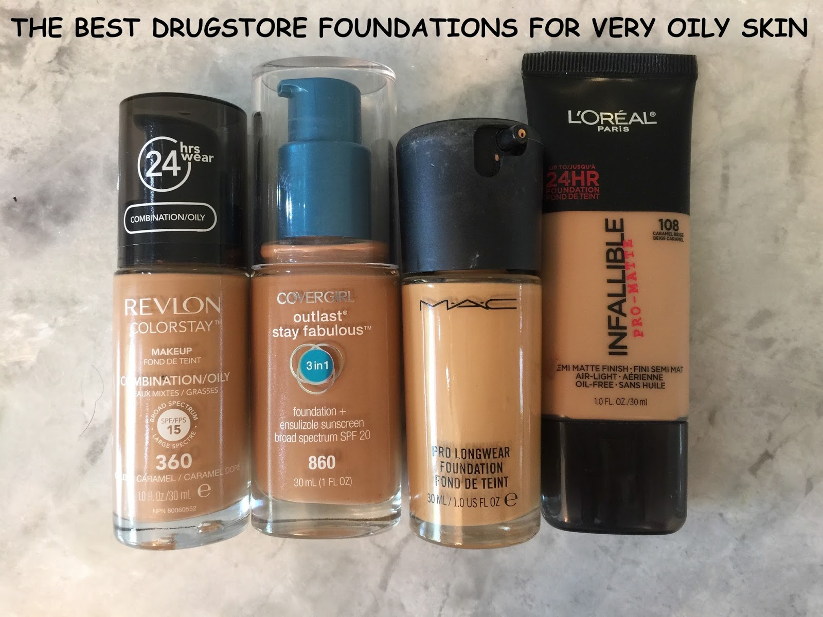 The Glamour Geek: Best Foundation for Oily Skin - Revlon Colorstay ...