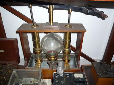 Modello pompa della seconda metà del 800. Costruttore, Carlo Dell'Acqua.