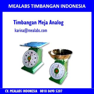 Jual Timbangan Meja Analog Mealabs Timbangan Indonesia