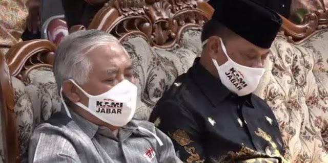 Deklarasi Dipersulit, KAMI Jabar Gelar Aksi di Depan Gedung Sate Bandung