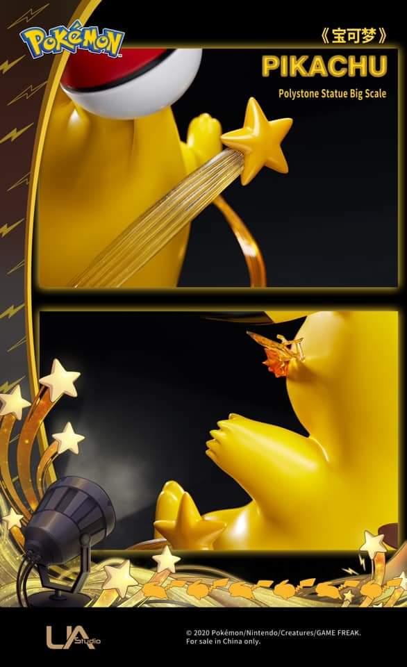 Figura de Pikachu
