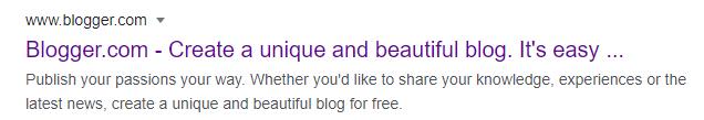blogger process