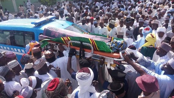 Photos From The Burial Of Late Former Sultan Of Sokoto, Alhaji Ibrahim Dasuki