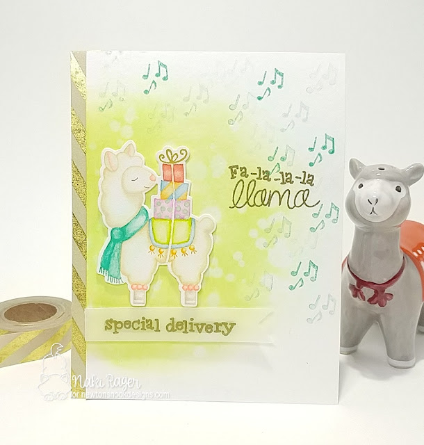 Newton's Nook Designs Llama Delivery Set - Naki Rager