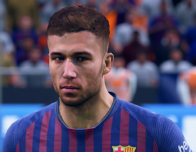FIFA 19 Faces Arthur Melo by CrazyRabbit