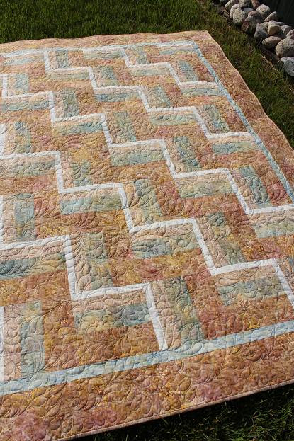 Night Owl Quilting & Dye Works: Not Your Mother's Rail Fence