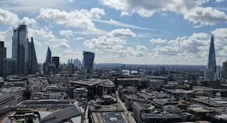 Londres a vista de pájaro, desde St. Paul.