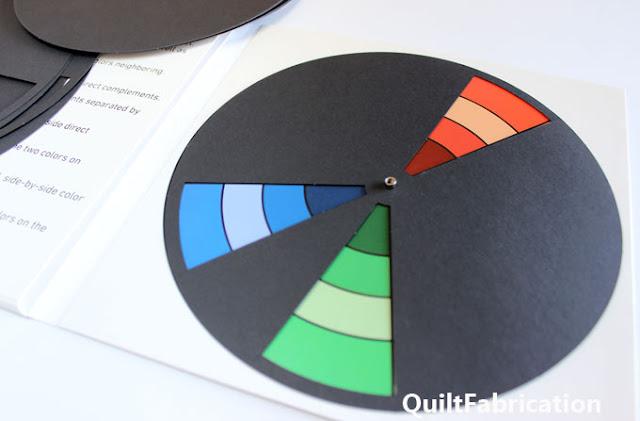 split compliment color scheme of orange blue and green