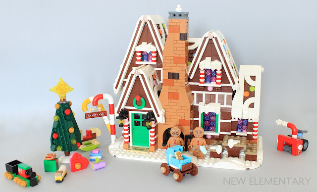 LEGO Creator Gingerbread House 10267 Winter Village Brand New Sealed Exclusive