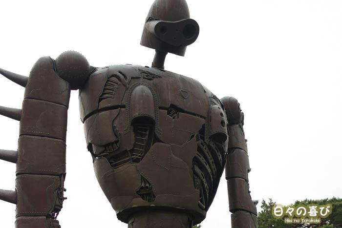replique robot le chateau dans le ciel musee ghibli mitaka