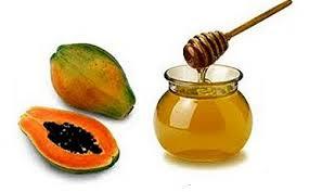 Trị nám da bằng đu đủ và mật ong