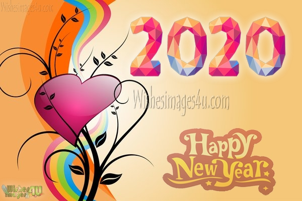 2020 New Year Love HD Wishes Greetings Pics Download