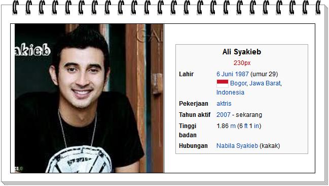 foto Ali Syakieb peran sebagai ahmad jamal