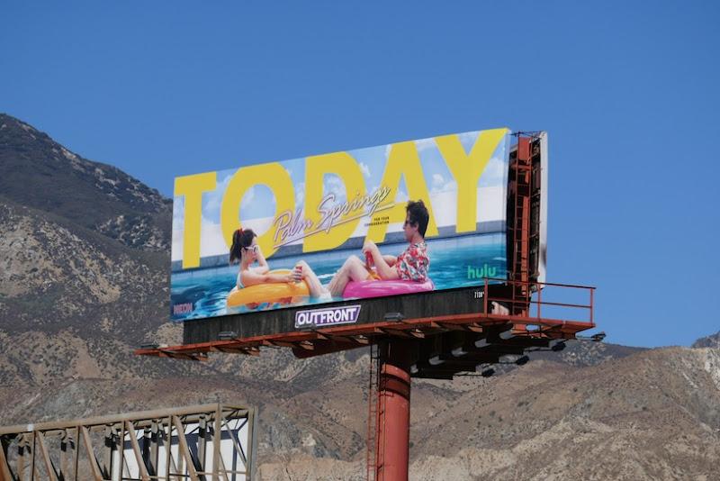 Today Palm Springs FYC billboard