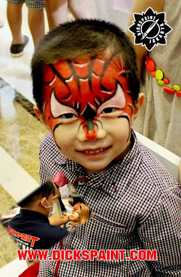 Face Pinting Spiderman Kids Jakarta