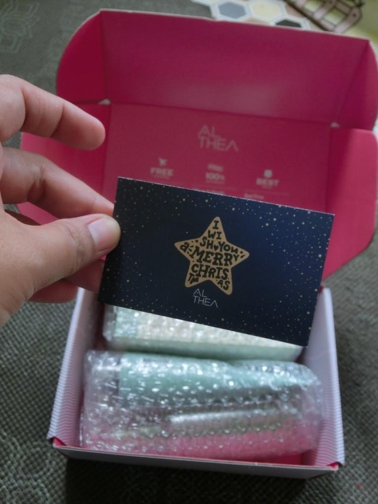 Unboxing my Althea parcel ....