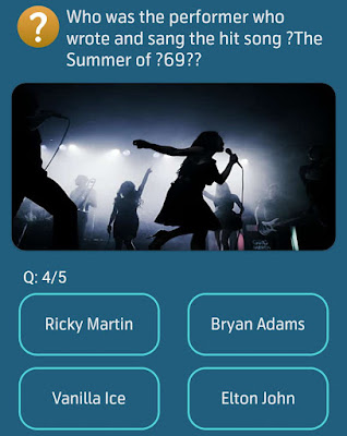 Who was the performer who wrote and sang the hit song The Summer of 69?