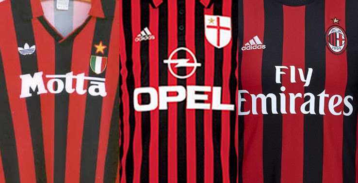 Ciudadano Intermedio Espíritu  Goodbye Three Stripes - Our Top 5 Adidas Milan Home Kits Ever - Footy  Headlines