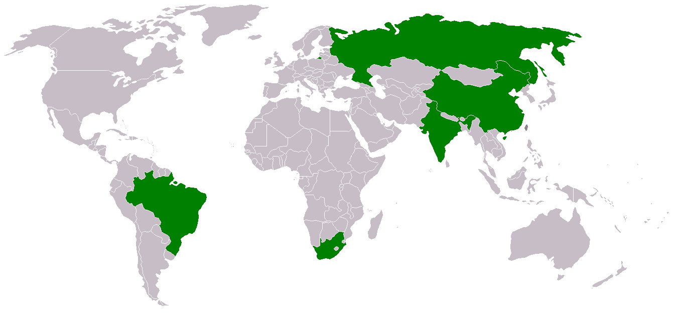BRICS | Brasil, Russia, China, Índia e África do Sul