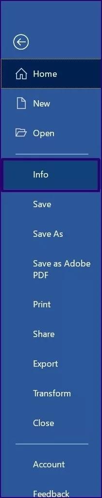 Gunakan Fitur Kelola Dokumen di Microsoft Word