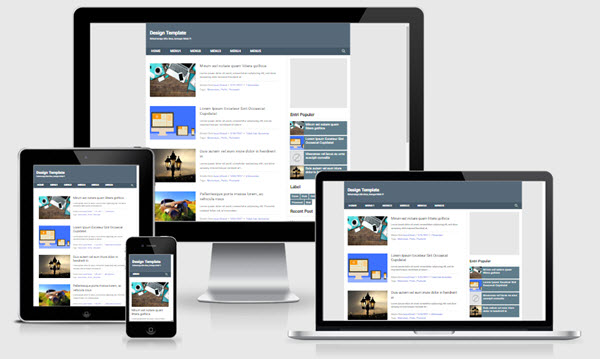 Pemula Fast Responsive Blogger Templates
