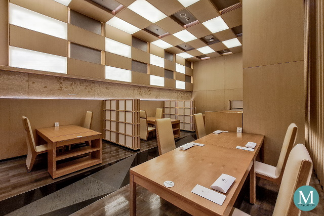 Yamazato Japanese Fine Dining Restauarant at Hotel Okura Manila