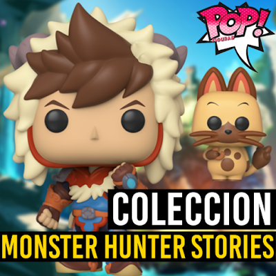 Lista de figuras Funko POP Monster Hunter Stories