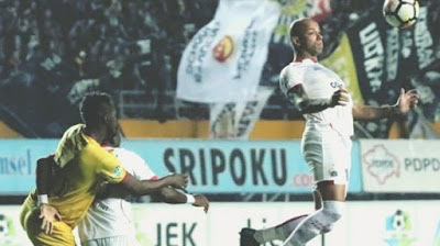 Berbalas Gol, Sriwijaya Ditahan Imbang Persija 2-2