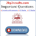 Anna University Civil Engineering Important Questions PDF I - VIII Semester