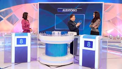 Julia, Silvio e Natalia no 3 Pistas (Crédito: Lourival Ribeiro/SBT)