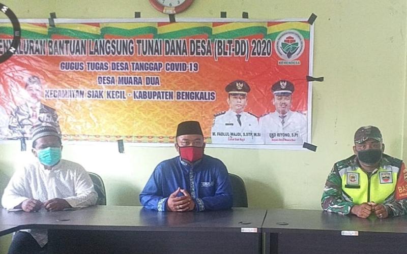 Kepala Desa Muara Dua Realisasikan BLT DD Tahap II Untuk 145 KPM